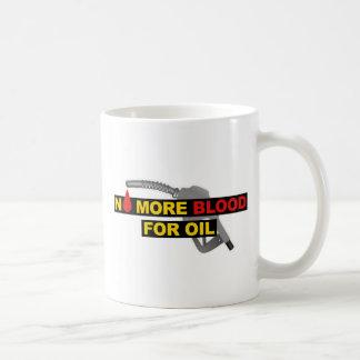 Nicht mehr Blut für Öl Kaffeetasse