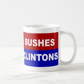 Nicht mehr Büsche, nicht mehr Clintons Tasse