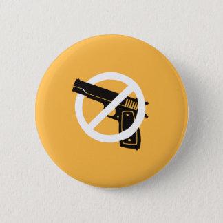 Nicht mehr Gewehre (Knopf - Gelb) Runder Button 5,1 Cm