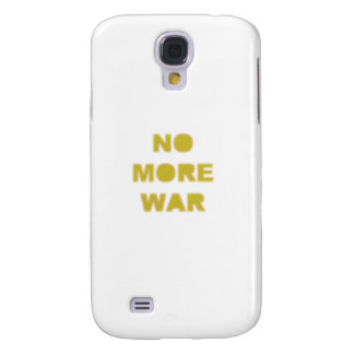 Nicht mehr Kriegs-Schablone Galaxy S4 Hülle