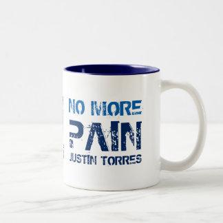 Nicht mehr schmerzen Blau 11 Unze Zwei-Ton Tasse
