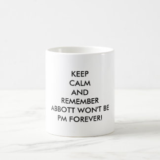 Nicht mein Abbott Kaffeetasse