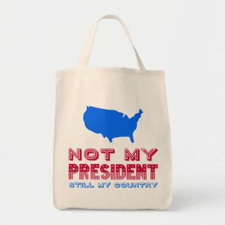 Nicht mein rotes Blau Präsidenten-Still My Country Tragetasche