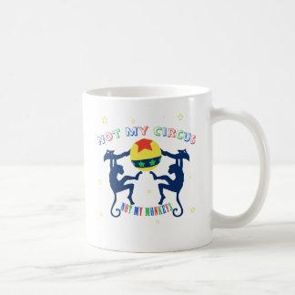 Nicht mein Zirkus, nicht meine Affen Kaffeetasse