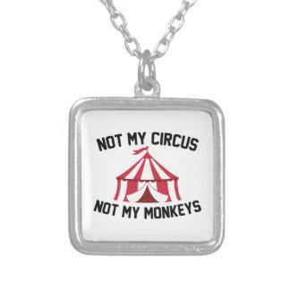 Nicht mein Zirkus Versilberte Kette