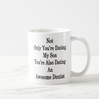 Nicht nur Sie sind verabredeten meinen Sohn, den Kaffeetasse