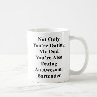 Nicht nur Sie sind verabredeten meinen Vati, den Kaffeetasse