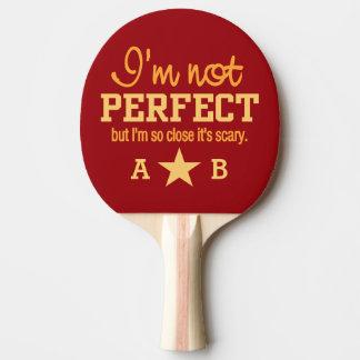 Nicht perfektes kundenspezifisches tischtennis schläger