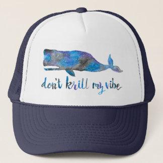 Nicht tun Krill mein Vibe-Fernlastfahrer-Hut Truckerkappe