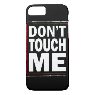 Nicht tun Touch ich schwarze iPhone 7 Abdeckung iPhone 8/7 Hülle