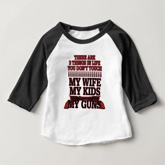 Nicht tun Touch meine Ehefrau meine Kinder meine Baby T-shirt