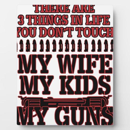 Nicht tun Touch meine Ehefrau meine Kinder meine Fotoplatte