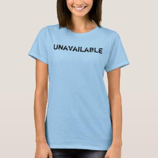 Nicht verfügbare gelassen ihnen kennen Mitteilung T-Shirt