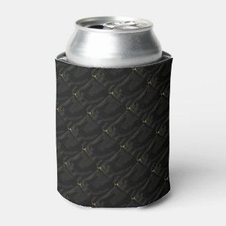 Nicht wirklich gesteppte noble schwarze Bier-Hülse Dosenkühler
