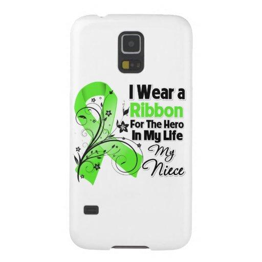 Nichten-Held in meinem Leben-Lymphom-Band Hülle Fürs Galaxy S5