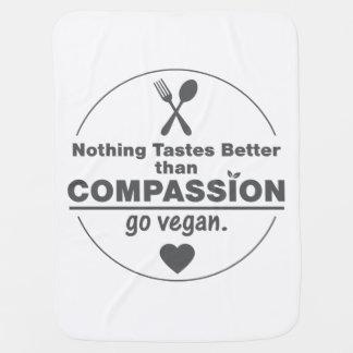 Nichts schmeckt besser, als Mitleid vegan gehen Baby-Decken