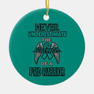 Nie… PTSD Krieger Keramik Ornament