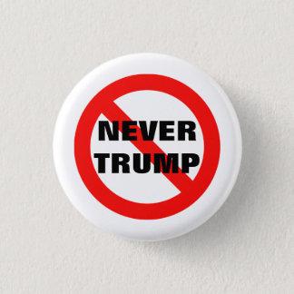 NIE TRUMPF für Präsidenten 2016 Runder Button 2,5 Cm