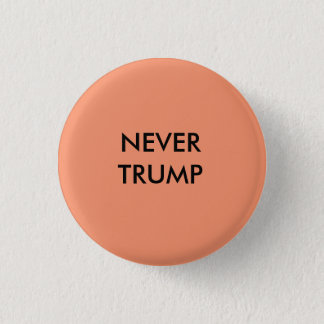 Nie Trumpf-Knopf Runder Button 3,2 Cm