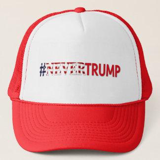 Nie Wahl-Politik #nevertrump des Trumpf-2016 Truckerkappe