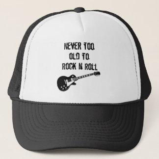 Nie zu alt zum Rock'n'Roll Truckerkappe