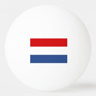 Niederländische Flaggen-Klingeln pong Bälle für Tischtennis Ball