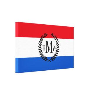 Niederländische Holland-Flagge Leinwanddruck