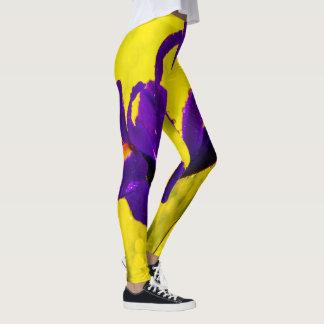 Niederländische Iris Leggings