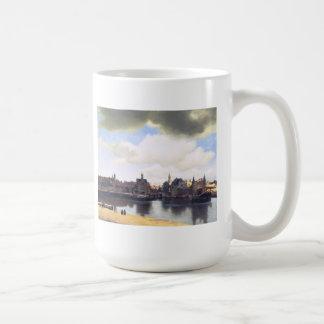 Niederländische Künstler Vermeer Malerei Kaffeetasse