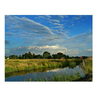 Niederländisches Bauernhaus Postkarte