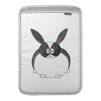 Niederländisches Schwarzweiss-Kaninchen Sleeves Fürs MacBook Air