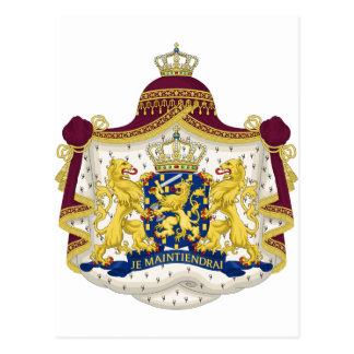 Niederländisches Wappen Postkarte
