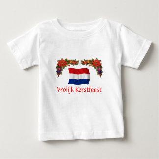 Niederländisches Weihnachten Baby T-shirt