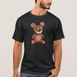 Niedlich-Teddybär-Bär (Schwarzes) T-Shirt