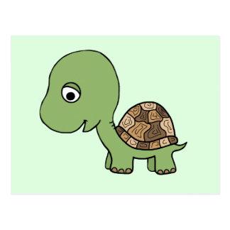 Niedliche Baby-Schildkröte Postkarte