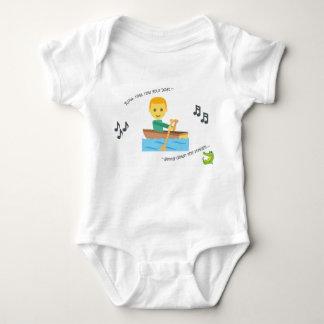 Niedliche Babybodysuit-Kinderzimmer-Reimreihe Ihr Baby Strampler