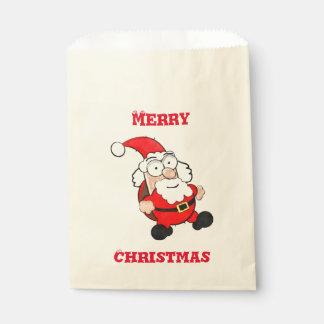 Niedliche Bevorzugungs-Tasche Sankt Ecru Geschenktütchen