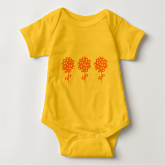 Niedliche Blumen Baby Strampler