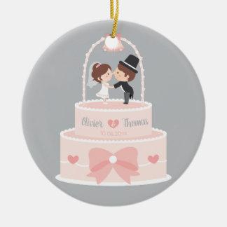 Niedliche Braut-und Keramik Ornament