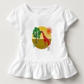 Niedliche bunte Watercolor-hohe Kleinkind T-shirt