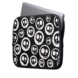 Niedliche Cartoon-Schädel-Laptop Ipad Hülsen-Tasch Laptop Computer Schutzhülle