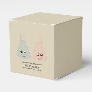 Niedliche Chemie-Geburtstags-Bevorzugungs-Kästen Geschenkschachtel