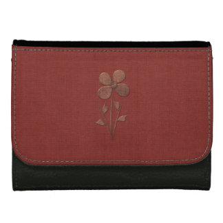 Niedliche Chic-Kupfer-Blumen-rote