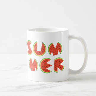 Niedliche coole Sommer-Wassermelone Kaffeetasse