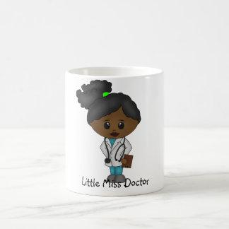 Niedliche Dame Doktor Mug - Schwarzes/Afrikaner Kaffeetasse