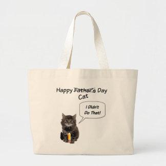 Niedliche der Vatertags-riesige Taschen-Taschen