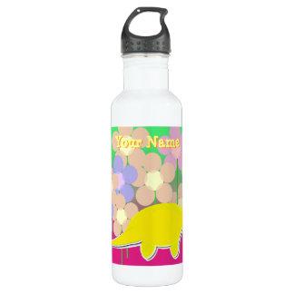 Niedliche Dinosaurier-Blumen-Flasche Trinkflaschen