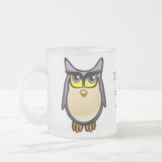 Niedliche Eule Tee Tassen
