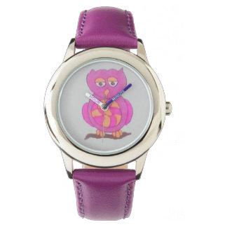 Niedliche Eulen-Uhr Armbanduhr