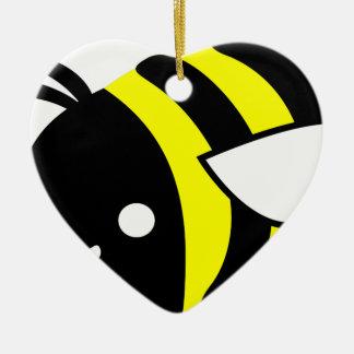 Niedliche Fliegenhummel Keramik Ornament